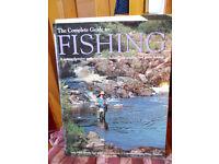 Three fishing books.