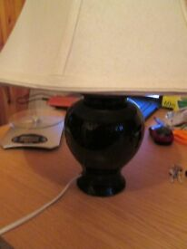 Bedside Table Light Lamp black and white -REF- 2.484kgheavy-431ap1snk4x