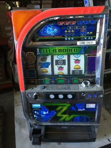 CLUB RODEO Digital LCD Japanese Pachislo Skill Stop Slot Machine