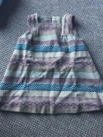Dresses and winter coat, 18-24months, from Spain, worn once