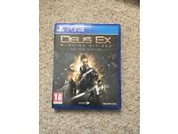 Deus EX Mankind Divided Day one edition £5 only PS4