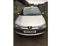 Peugeot 306 in very good condition for age with Full Years mot(10/03/18).