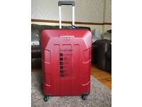 BRAND NEW - Red Hardshell Large Ventura Suitcase