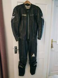 Pro Sports One Piece Leather Suit Small