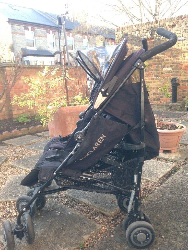 Maclaren Twin Turbo Babytoddler Stroller In East Dulwich London