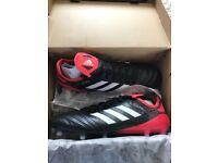 Men's Adidas Copa 18.1 FG black/red/white Size 11
