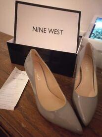 Brand New Nine West - Grey 'Flagship' high heel court shoes