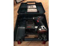 Bosch 18v drill combi 3amp battery impact