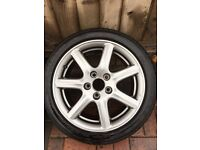HONDA CIVIC ALLOYS 17x45x225 mint condition full set of 5