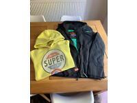 Superdry hoodie and coat