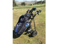Golfing Power caddy