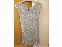 Marks and Spencer Sparkle Dress Age 7-8