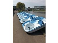 Pelican Pedalo Pedal Boat, 4 Person, Full Working Order, Lightweight, Great Fun!