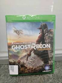 """XBOX ONE GAME """"TOM CLANCY'S GHOST RECON WILDLANDS"""""""