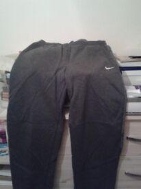 Grey Nike Air Max cotton bottoms small