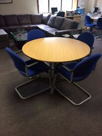 Meeting Room Table with Six Chairs