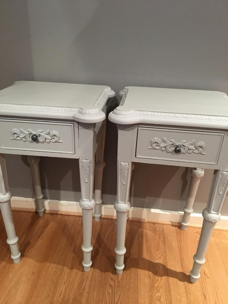French Ornate Bedside tables