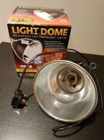 Exo Terra Light Dome Reflector Lamp.