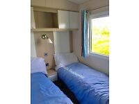 Caravan to rent Presthaven