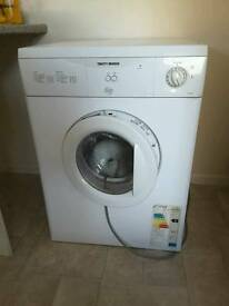 Tumble dryer only 2 years old Tricity Bendix excellent condition selby