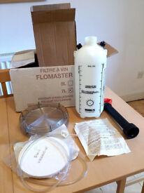 Flomaster wine making kit.