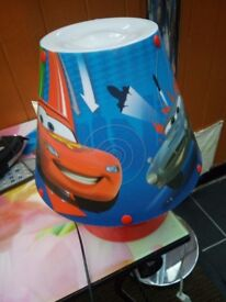 Cars kids lamp excellent condition