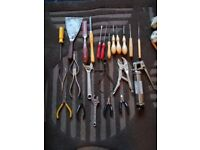 Loads of working hand tools for sale
