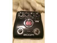 Zoom G2 guitar effects processor