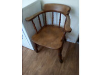 Antique Smokers Bow chairfor sale