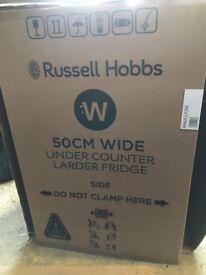 Russell Hobbs Larder Fridge white - Brand New still in packaging