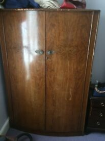 Solid wooden wardrobe