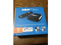 NEW Now TV box with 3 MONTHS ENTERTAINMENT PASS PLEX COMPATIBLE