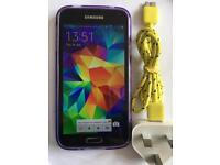 Samsung Galaxy S5 Black Unlocked READ