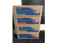4 brand new boxes of Epson printer ink