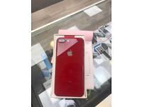 APPLE IPHONE 8 PLUS 64GB RED E.E BRAND NEW CONDITION