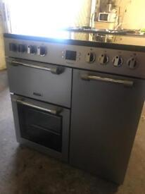 EXCELLENT CONDITION LEISURE RANGE COOKER FULLY ELECTRIC 90 CM WIDE🇬🇧🇬🇧🌎🌎🇬🇧🇬🇧