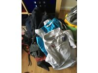 4 bags full of boys clothes & shoes various size Nike, next, river island, penguin etc carboot