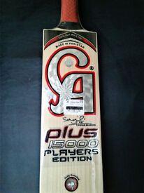 CA plus 15000 players edition cricket bat, CLEAN WOOD, NO KNOTS, NO HEART WOOD