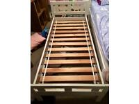 Wooden childs bed