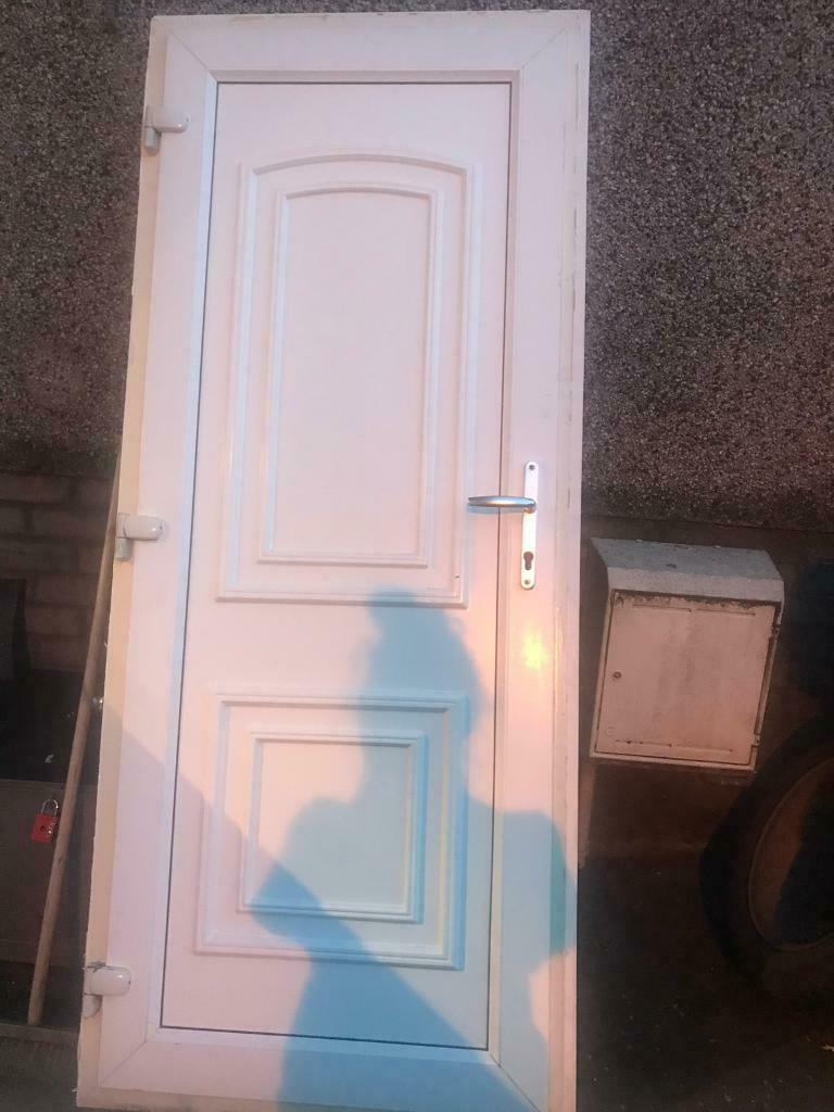 White Pvc Door And Door Frame In Kirkliston Edinburgh Gumtree