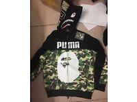 Puma x Bape hoody