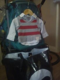 baby boys clothes 0-3 large bag full