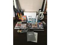 Boxed Nintendo Wii large bundle! need gone