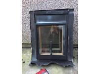 2 x Wickes Skylight Brown Top Hung Clear Glass 550x450mm