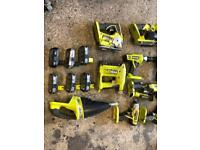 Ryobi 18v power tools