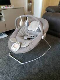 Mamas and Papas baby bouncer, 3 months old, cost £80