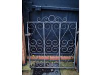 """Black Iron Gates x 2 (To fit 36"""" wide entrance) 