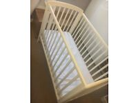 White cot from john lewis