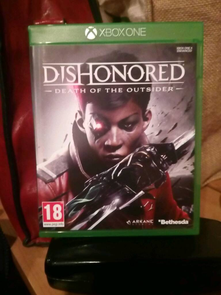 Dishonered death of the outsider xbox one game