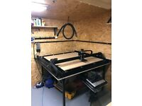 CNC Machine 4ft x 4ft Ooznest, 1500mm x 1500mm